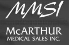 MMSI MCARTHUR MEDICAL SALES INC.