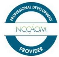 NCCAOM PROFESSIONAL DEVELOPMENT PROVIDER