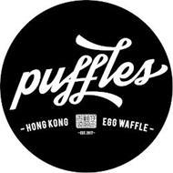 PUFFLES HONG KONG EGG WAFFLES EST 2017