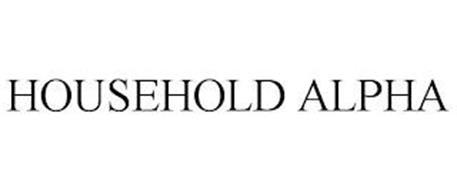 HOUSEHOLD ALPHA