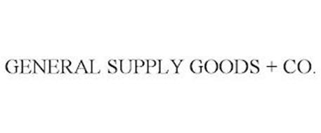 GENERAL SUPPLY GOODS + CO.