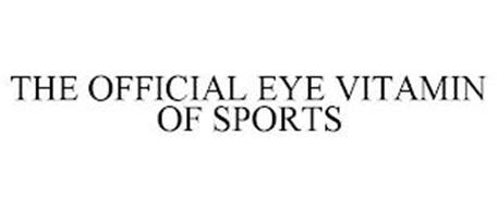 THE OFFICIAL EYE VITAMIN OF SPORTS