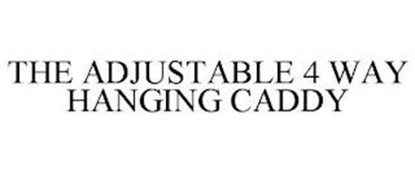 THE ADJUSTABLE 4 WAY HANGING CADDY