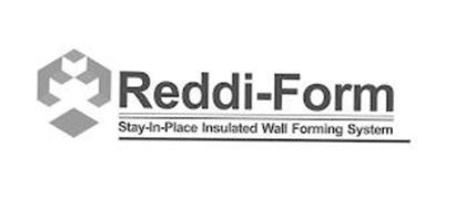 REDDI-FORM STAY-IN-PLACE INSULATED WALLFORMING SYSTEM