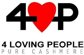 4 P 4 LOVING PEOPLE PURE CASHMERE