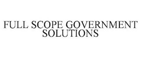 FULL SCOPE GOVERNMENT SOLUTIONS