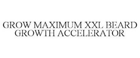 GROW MAXIMUM XXL BEARD GROWTH ACCELERATOR