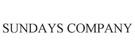 SUNDAYS COMPANY