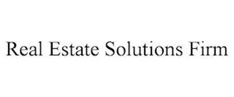REAL ESTATE SOLUTIONS FIRM