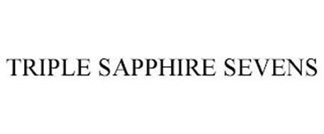 TRIPLE SAPPHIRE SEVENS