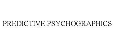 PREDICTIVE PSYCHOGRAPHICS