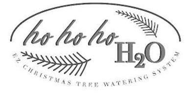 HO HO HO H2O EZ CHRISTMAS TREE WATERING SYSTEM