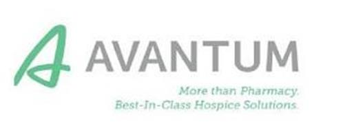 A AVANTUM. MORE THAN PHARMACY. BEST-IN-CLASS HOSPICE SOLUTIONS.