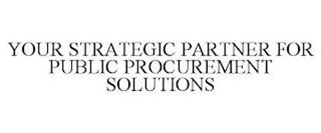 YOUR STRATEGIC PARTNER FOR PUBLIC PROCUREMENT SOLUTIONS