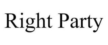 RIGHT PARTY