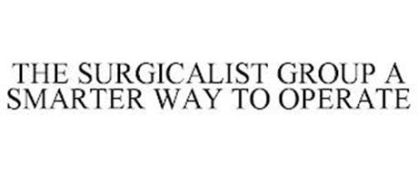 THE SURGICALIST GROUP THE SMARTER WAY TO OPERATE