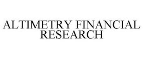 ALTIMETRY FINANCIAL RESEARCH