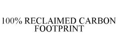 100% RECLAIMED CARBON FOOTPRINT
