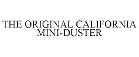 THE ORIGINAL CALIFORNIA MINI-DUSTER