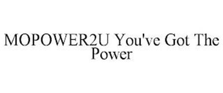 MOPOWER2U YOU'VE GOT THE POWER