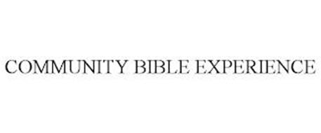 COMMUNITY BIBLE EXPERIENCE