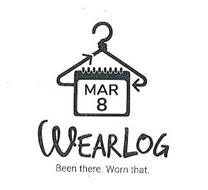MAR 8 WEARLOG BEEN THERE WORN THAT; MARCH EIGHT