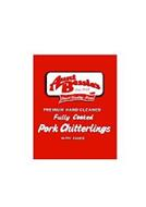 AUNT BESSIE'S EST. 1958 FINEST QUALITY MEATS PREMIUM HAND CLEANED FULLY COOKED PORK CHITTERLINGS WITH SAUCE