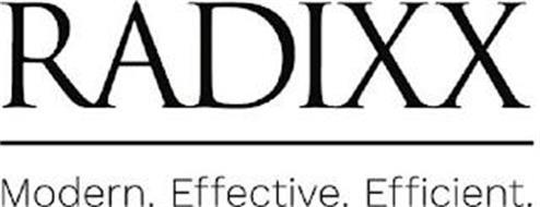 RADIXX MODERN. EFFECTIVE. EFFICIENT.
