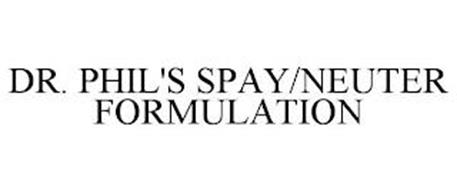 DR. PHIL'S SPAY/NEUTER FORMULATION