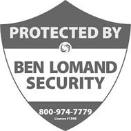 PROTECTED BY BEN LOMAND SECURITY 800-974-7779 LICENSE #1560