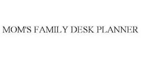 MOM'S FAMILY DESK PLANNER