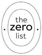 THE ZERO LIST