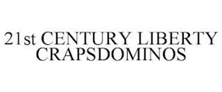 21ST CENTURY LIBERTY CRAPSDOMINOS