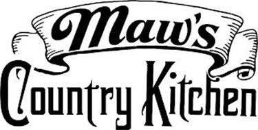 MAW'S COUNTRY KITCHEN