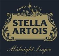 STELLA ARTOIS MIDNIGHT LAGER ANNO 1336