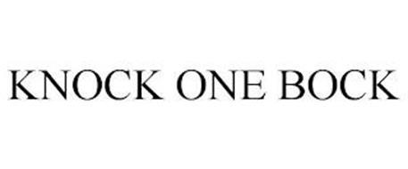 KNOCK ONE BOCK