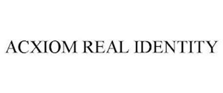 ACXIOM REAL IDENTITY