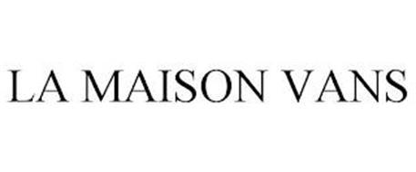 LA MAISON VANS