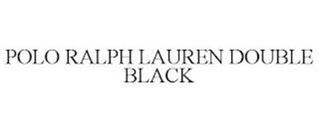 POLO RALPH LAUREN DOUBLE BLACK