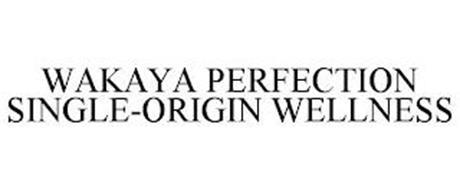 WAKAYA PERFECTION SINGLE-ORIGIN WELLNESS