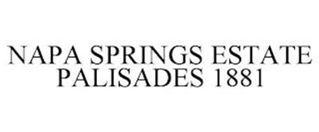 NAPA SPRINGS ESTATE PALISADES 1881