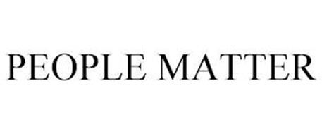 PEOPLE MATTER