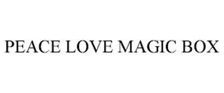 PEACE LOVE MAGIC BOX