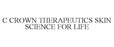 C CROWN THERAPEUTICS SKIN SCIENCE FOR LIFE