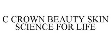 C CROWN BEAUTY SKIN SCIENCE FOR LIFE