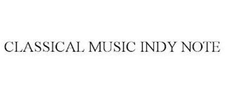 CLASSICAL MUSIC INDY NOTE