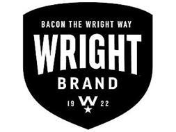 BACON THE WRIGHT WAY WRIGHT BRAND 1922