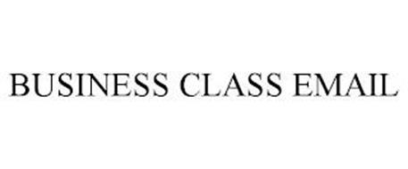 BUSINESS CLASS EMAIL