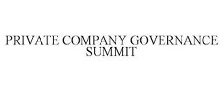 PRIVATE COMPANY GOVERNANCE SUMMIT