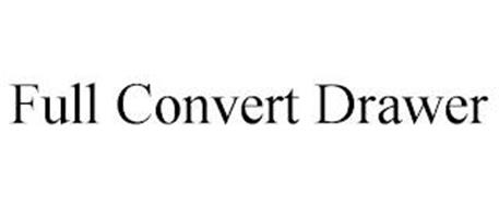 FULL CONVERT DRAWER